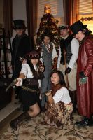 Once Upon a Steampunk Christmas.... by AirshipConstantine
