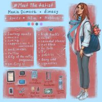 #MeetTheArtist by dimary