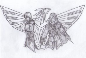 Assassin's Creed Eagles by SilverB-2814
