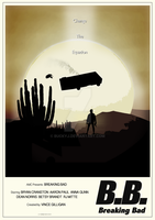 B.B. Breaking Bad Poster by buckyj