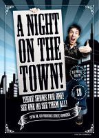A Night On The Town flyer by 54NCH32
