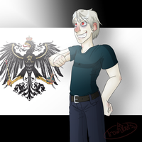 Ze awesome Prussia by EyelessArtist