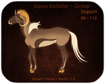 SOLD! | E -  115 | Group Import by Enharmonia