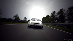 Honda Integra DC5 at Nurburgring Nordschleife GT5 by Adamowsky-Design