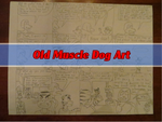 Old Muscle Dog Art by leduc-gallery