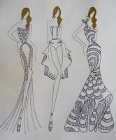 Haute Couture 2013 - Spring (1-2) by Crazypop14