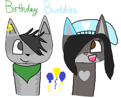 Birthday Buddies by DorkDah
