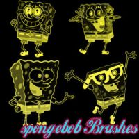 SpongeBob Brushes by remygraphics