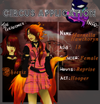 Ember's Circus App  by k-kitty9218