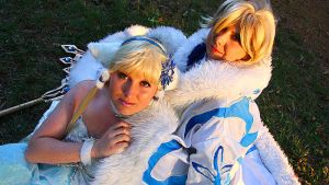 AWA 2011: Fai and Chii 2 by ChikiCosplay