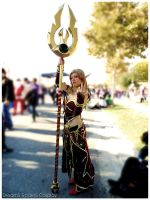 Blood Elf Cosplay by azka-cosplay