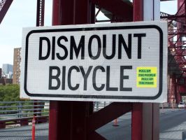 DISMOUNT BICYCLE by coopyey