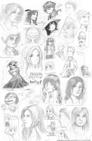 What I did in Class 2009-2010 by Dice9633