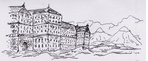 Chateau in the moutains by tarunbanned