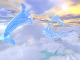 Glass Dolphins Exit Heaven 2 by supern0va