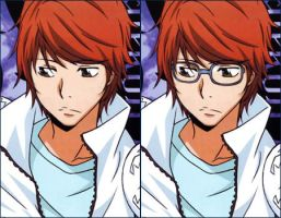 Irie Shouichi Without Glasses by Pikangie