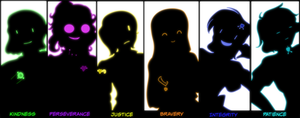 Undertale: HEA - Six Human --Antagonists?-- Souls by CoolFireBird