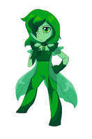 Gemsona - Emerald by SketchyGarden