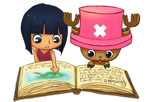 RoCho reading books by ElisabethHeart