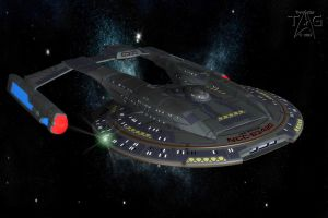 U.S.S. Striker NCC-63420: Fleet Workhorse by TrekkieGal
