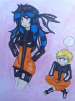 NARUTO AND EIZA by mizzue