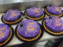 Spider Cakes by Nimhel