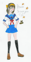 Coloring Haruhi by Rhythm-Wily