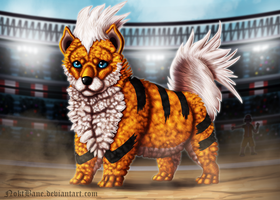 Growlithe by NoktBane