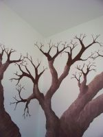 Tree Painting 9 by somebodyaf