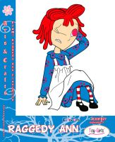 Toy Girls - Arts n Crafts Series 27: Raggedy Ann by mickeyelric11