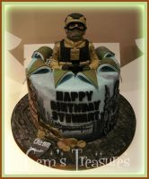 Call of Duty Cake by gertygetsgangster
