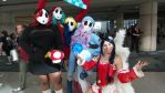 Megacon 2016 shy gals and ahri 1 by kingofthedededes73