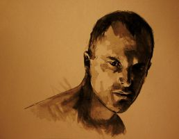 Self in watercolour by arallsopp