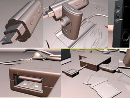 Studio setup maxwell meshes by zuliban