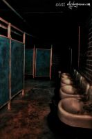 Milton Bathroom - HDR by ellysdoghouse