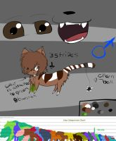 Puchi reference by chlckadee
