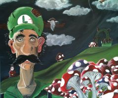 Luigi Portrait by Master-Of-Puppets12
