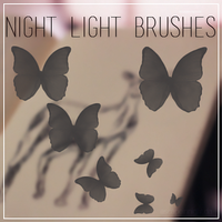 +. Night Light Brushes by EscapeInNight