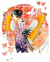 Madame Butterfly by Mireielle