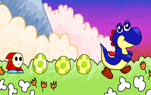 Yoshi's Island by qwerty1198