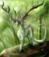 Forest Guardian by Blue-Uncia