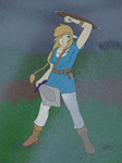 Link63 in the Rain by CharleyEcho