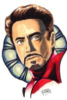 Iron Man sketch by Rider4Z