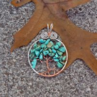 Turquoise Tree by magpie-poet