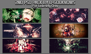 2nd PSD Pack By D-GodKnows by D-GodKnows