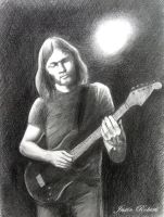 David Gilmour by jrobertsart