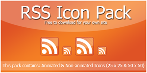 RSS Icon Pack by Thirteen-Autumns
