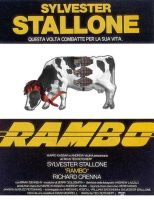 Rambo Cow by tortured-spirit149