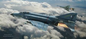 Evening Patrol - F4 Phantoms by rOEN911