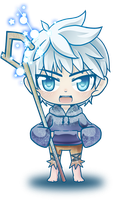 Jack Frost Chibi by HellHum